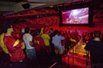 University of Southern California fans watched a USC-Ohio State college football game in 3D this past September in Los Angeles.