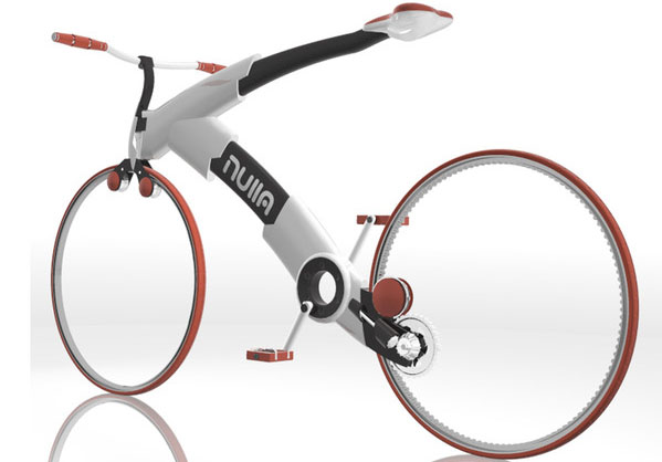 No Spoke Wheels Bike Concept – Nulla Bicycle