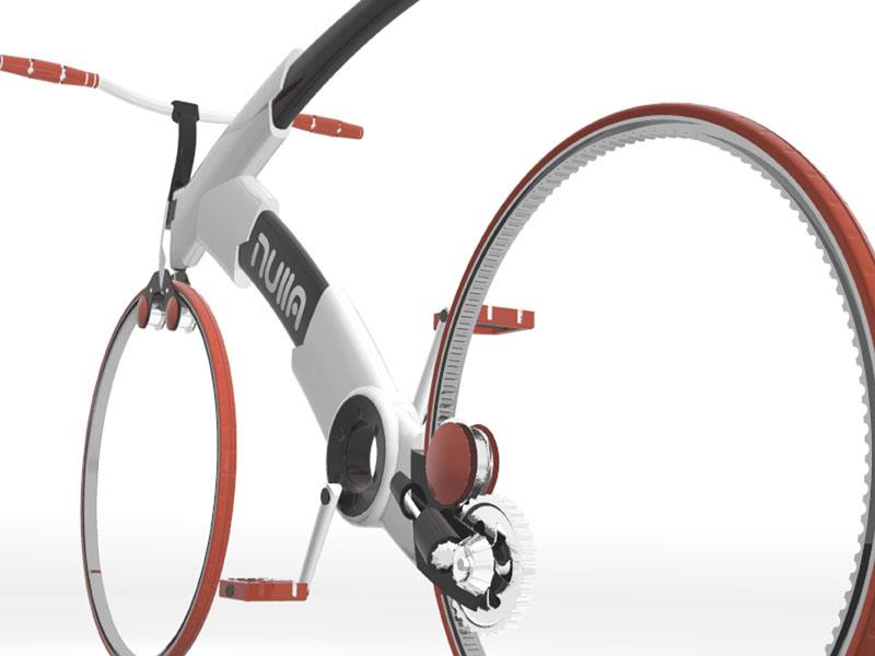 концепт колеса без спиц