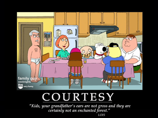 Family Guy – 20 Motivational