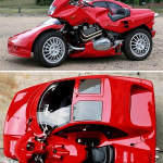 Snaefell Hybrid Car | Motorcycle by Francois Knorreck
