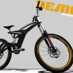 The Demon Downhill Bike by Richard Malachowski