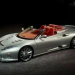 Spyker Unveils the C8 Aileron Spyder
