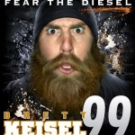 Respect the Beard, Fear the Diesel – Brett Keisel Beard Shirt