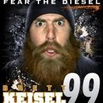 Respect the Beard, Fear the Diesel – Brett Keisel Beard Shirt