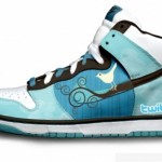 Stylish Geek – Nike Sneakers Featuring FireFox, Twitter and Google