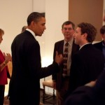 Obama Meets Facebook's Mark Zuckerberg [Pictures]