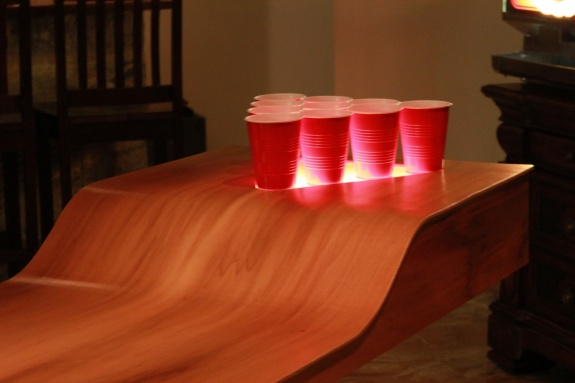 Limewedge Net The Ultimate Custom Beer Pong Table