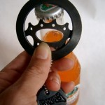 Recycled Cycle Bottle Opener