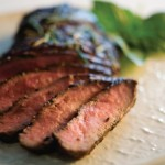 Grilled Flat-Iron Steak with Spicy Rub