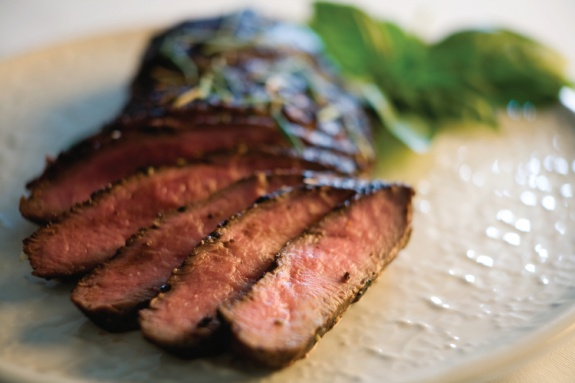 Grilled Flank Steak With Tomatoes, Red Onion And Balsamic Recipes ...