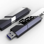 Combination Micro SD Memory Design Stick Concept