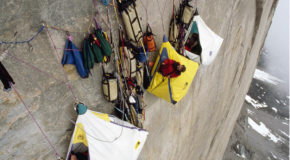 The Most Extreme Camping Combined with Rock Climbing