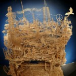 100,000 Toothpicks, 35 Years of Work, 1 Man [Pics & Video]
