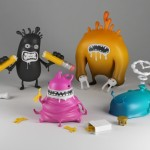 Fontomass Project's Sin Toys x HandMadeFont