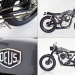 The Cafe Scorpio Motorcycle x Deus Café
