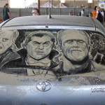 Dirty Car? Make Amazing Art out of It – Dirt Art