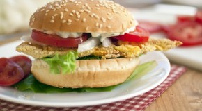 Oven Fried Catfish Sandwich [Recipe]