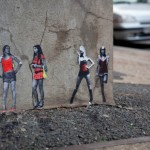 Miniature Urban Art Pasted in London Streets
