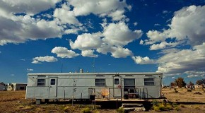 The Very Small Hotel in El Cosmico, Marfa Texas