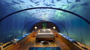 Underwater Paradise – Underwater Bedroom in the Maldives