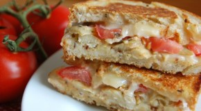 Grilled Cheese with Artichoke Hearts