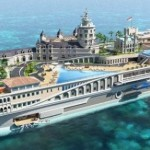 A Yacht That's an Island – Streets of Monaco