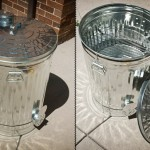 Trash Can Designed Smoker