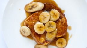 Mouth-Watering Bananas Foster French Toast
