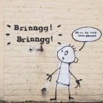 New Banksy Work Spotted – Brinngg