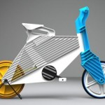 FRII Recycled Plastic Bike Design