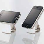 Elecom Silicone iPhone Stand