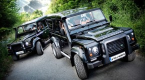 Rugged Vilner Land Rover Defender