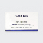 10 Business Cards of the 10 Famous People