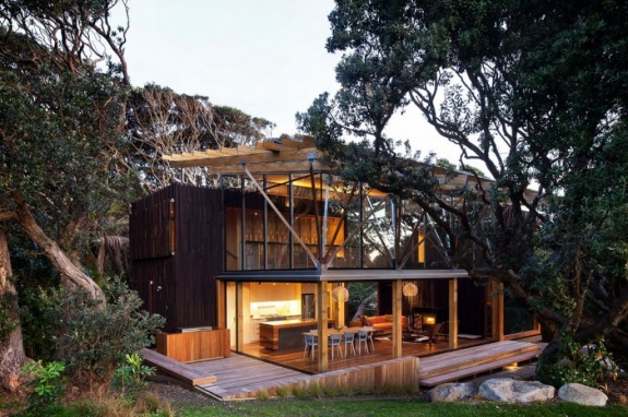 LimeWedgenet Architecture  House Under the Trees x Herbst Architects