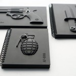 Armed Notebooks – Symbols of Violence Converted to Peace