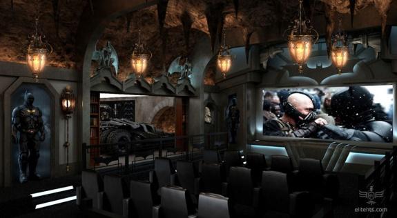 Dark Knight Themed Theater