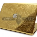 Geeky Luxury – The 24-carat Gold Macbook Pro