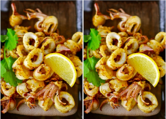 Mouth Watering Grilled Calamari with Cumin