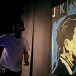 Stunning JFK Portrait Painted in Under 6 Minutes to Nero & Skrillex Remix – Promises [Video]