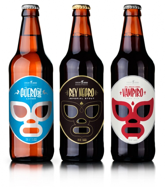 Jose Guizar's Lucha Libre Mexican Craft Beer