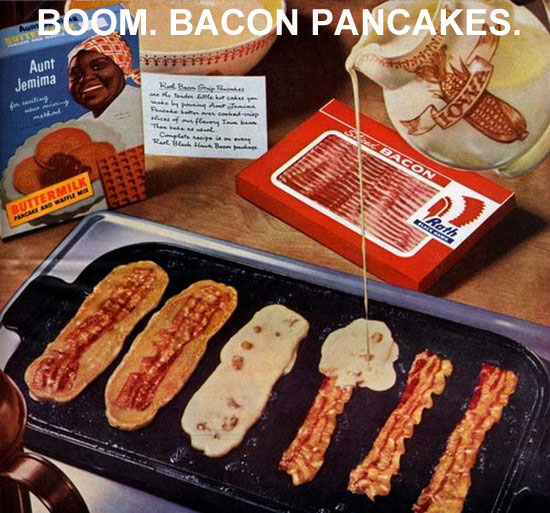 Life Hack - Bacon Pancakes