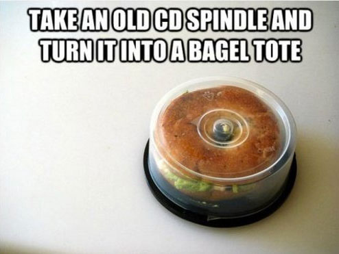 Life Hack - CD Spindle