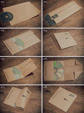 Life Hack - Envelope CD