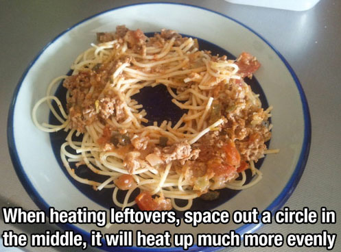 Life Hack - Leftovers