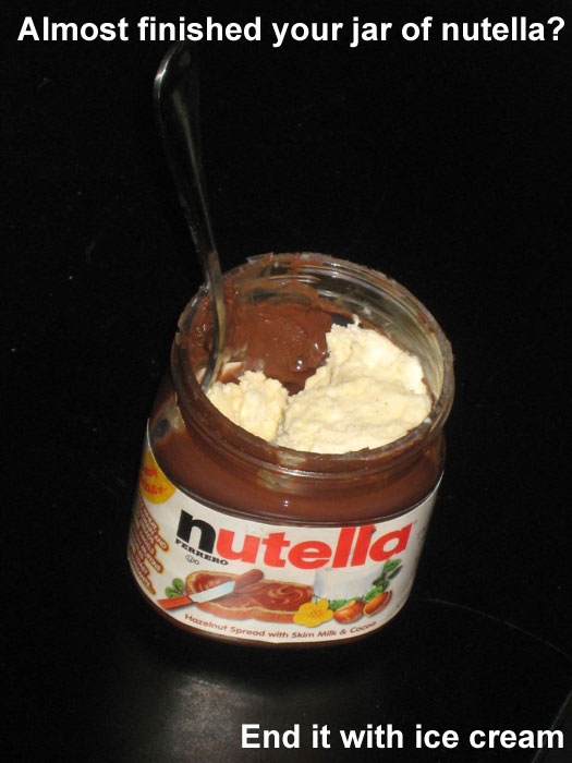 Life Hack - Nutella