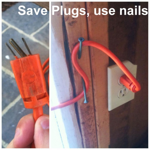 Life Hack - Save Plugs