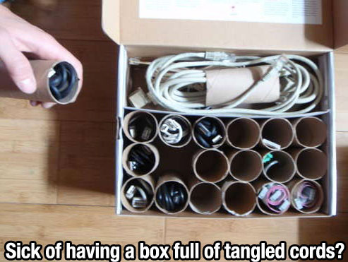 Life Hack - Tangled Cords
