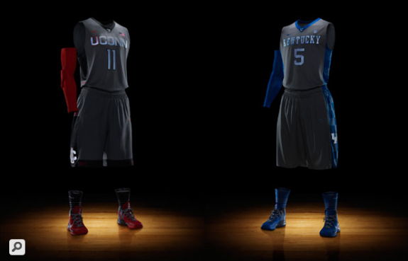 Nike Hyper Elite Platinum Basketball Uniforms