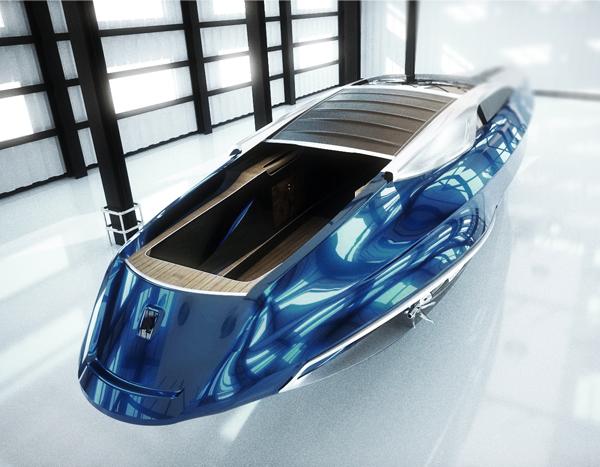 Rolls Royce Yacht Design